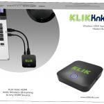 KLIK חיבור אלחוטי למסך מרכזי